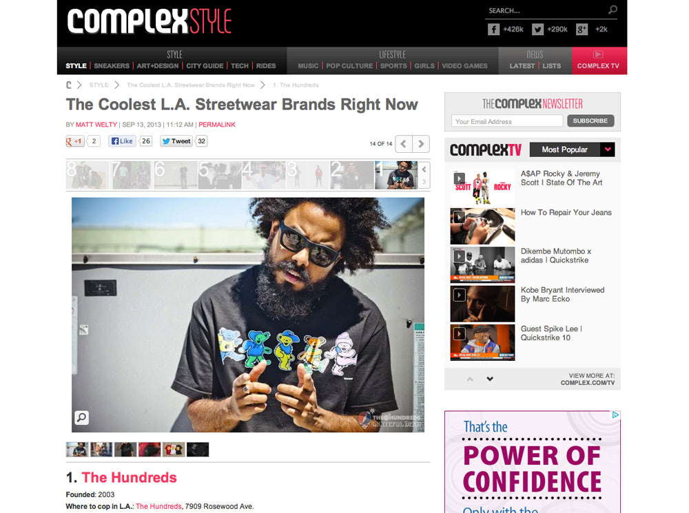 COMPLEX IS THE BEST MAGAZINE EVER.
