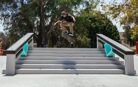 JUST OPENED: DIAMOND SUPPLY CO. PUBLIC SKATE PLAZA