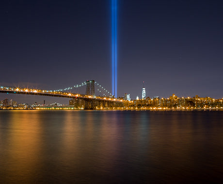 NEVER FORGET 9/11/14 :: THE LIGHTS IN NYC