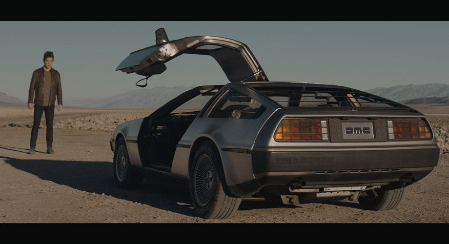 INTRODUCING THE NEW DELOREAN COMMERCIAL