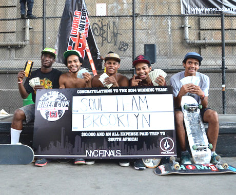 SKATE BATTLE IN THE BOROUGHS :: RIDER CUP NYC FINALS