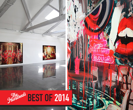 THE BEST ART SHOWS I SAW AROUND THE WORLD IN 2014
