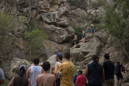 Hot on the Trail :: Street Meet in Malibu Creek State Park