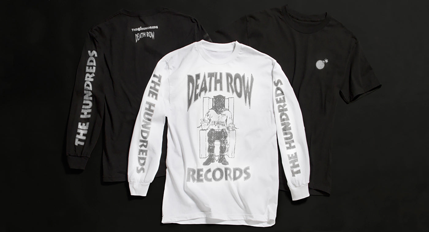THE HUNDREDS X DEATH ROW :: AVAILABLE NOW