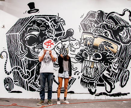STREET ARTISTS THE YOK & SHERYO TAKE OVER LA :: INTERVIEW