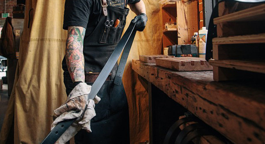Leather Goods That Last a Lifetime :: A Q&A with Idaho's Thrux Lawrence