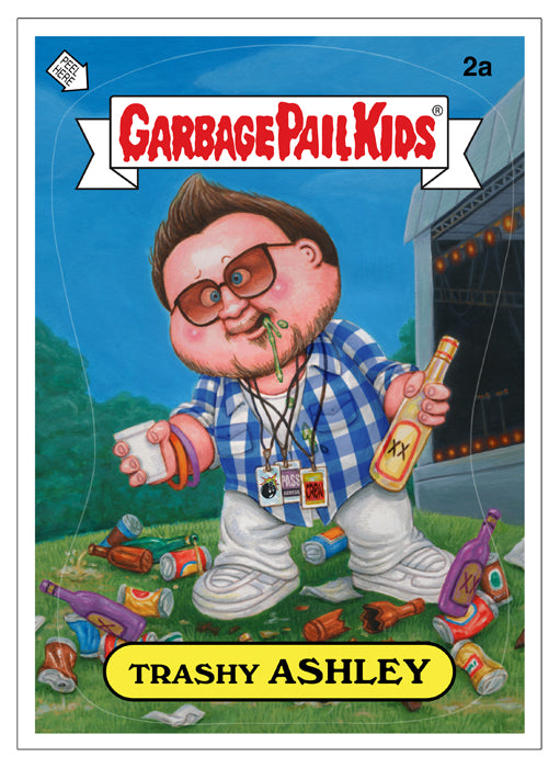 THE HUNDREDS + TOPPS + GARBAGE PAIL KIDS : TRASHY ASHLEY
