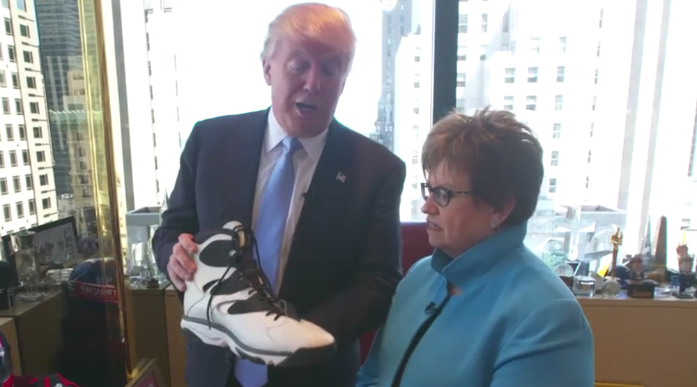 Buy Your Fall Sneakers Now Before Trump's Trade War Drives Up Their Prices