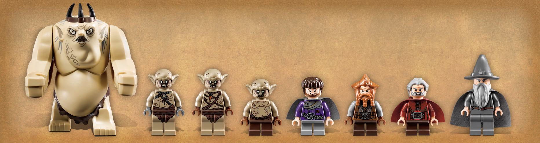 LEGO x The Hobbit 'The Goblin King Battle' Set