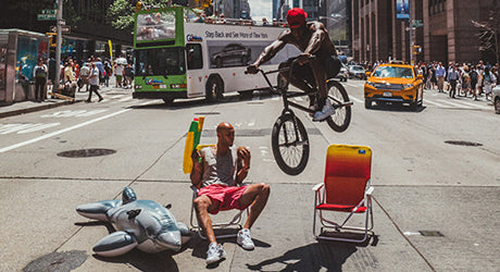 Taking Over 6th Ave with Mr. Flawless & Nigel Sylvester