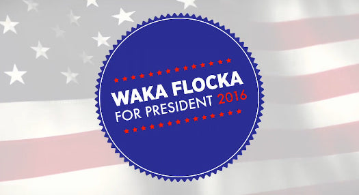 #WAKAFORAMERICA :: Oh Yes, Waka Flocka Flame Is Running for President