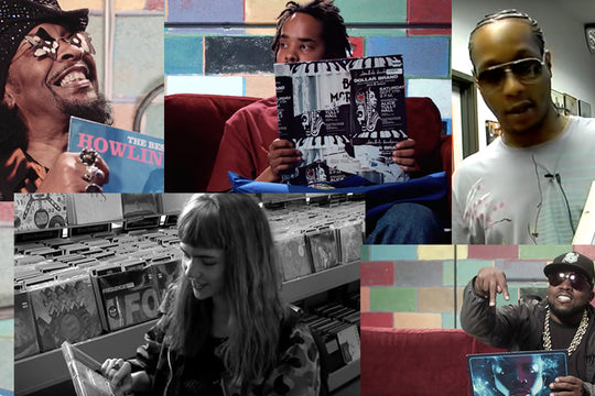 Our Favorite Amoeba Music 'What's In My Bag?' Episodes, from Earl Sweatshirt to Grimes