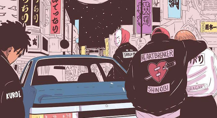 Samurais, Babes, & Streetwear :: A Peek Inside Wizzadaking's Illustrated World