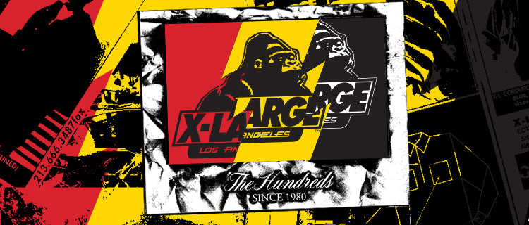 The Hundreds X XLARGE