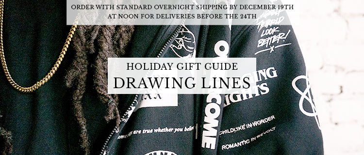 Holiday Gift Guide - Drawing Lines