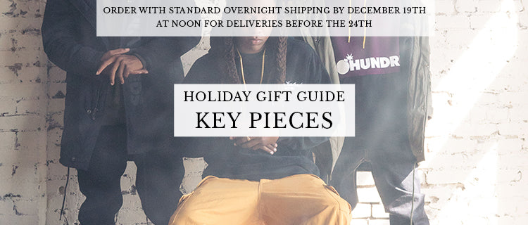 Holiday Gift Guide - Key Pieces