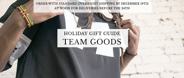Holiday Gift Guide - Team Goods