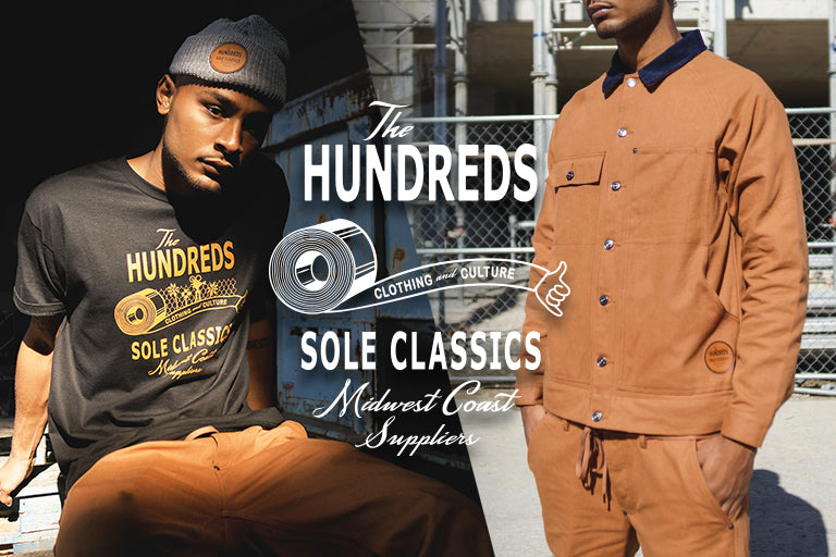 The Hundreds X Sole Classics