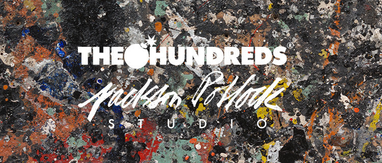 The Hundreds X Jackson Pollock