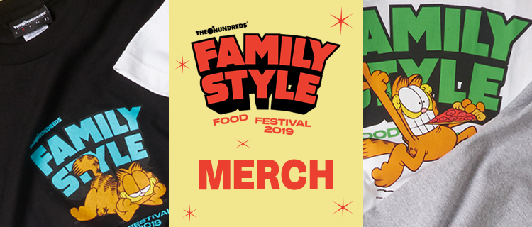 Family Style Food Festival Merch