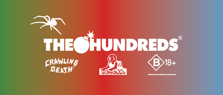 The Hundreds X Jungles Jungles / Crawling Death / BOW3RY
