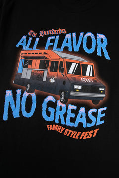 All Flavor No Grease X The Hundreds T-Shirt