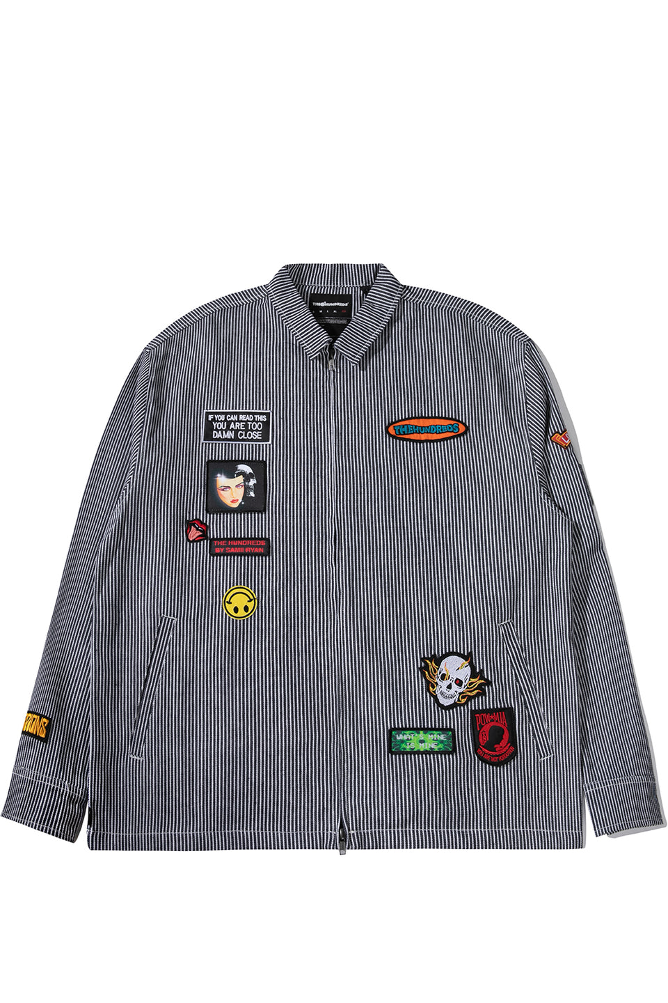 Samii Ryan Roosevelt Shirt Jacket