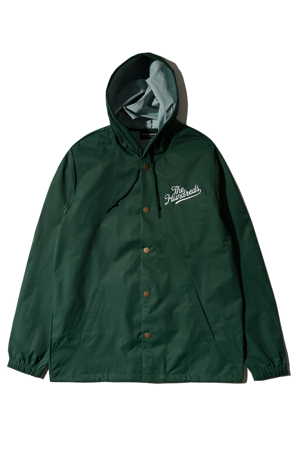 Forever Slant Hooded Coach's Jacket