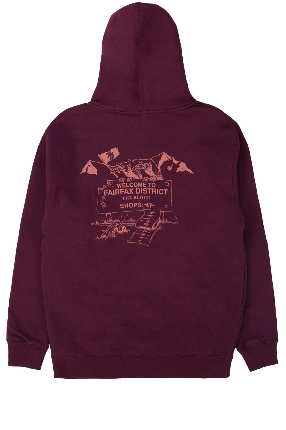 Ghost Town Zip-Up Hoodie