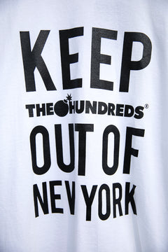 Keep The Hundreds Out Of New York T-Shirt