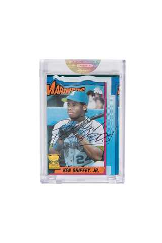 Black Edition: Ken Griffey Jr. Topps Card by Bobby Hundreds