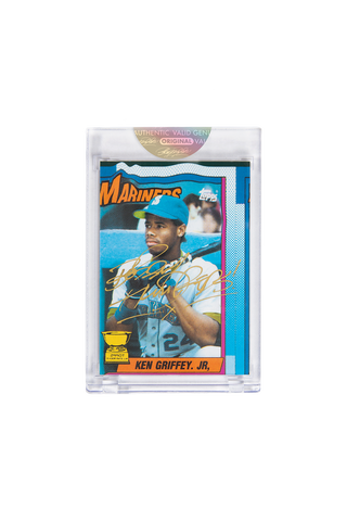 Gold Edition: Ken Griffey Jr. Topps Card by Bobby Hundreds