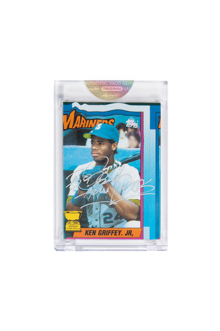 Silver Edition: Ken Griffey Jr. Topps Card by Bobby Hundreds