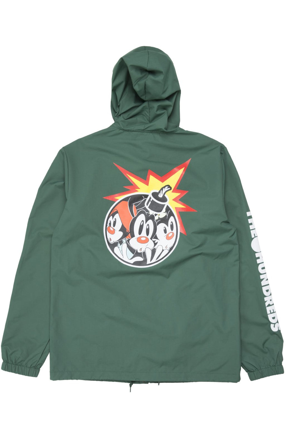 AniAdam Bomb Hooded Coach's Jacket