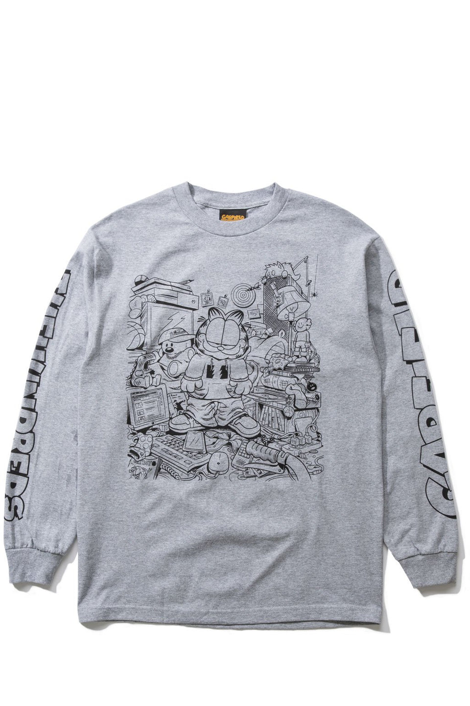 Messy Garfield L/S Shirt