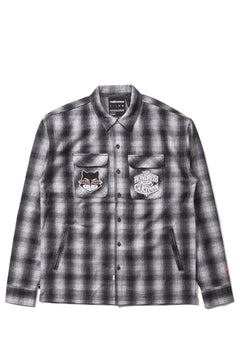 Mister Cartoon Plaid Button-Up