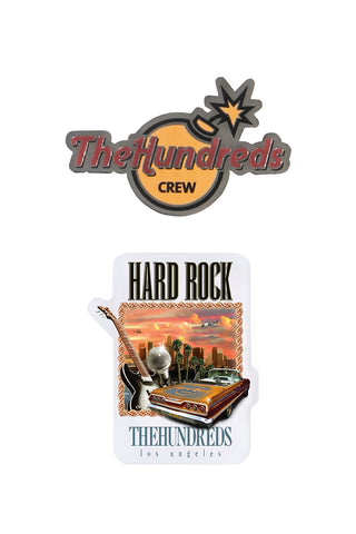 Hard Rock Pin Set