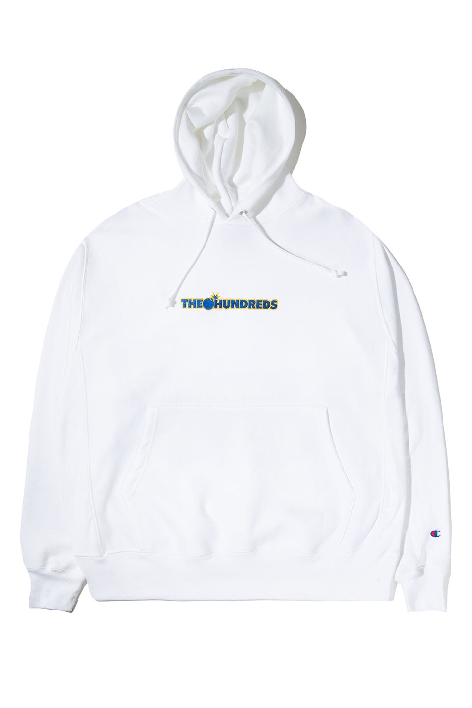 a24dbdf6a1f5 Outline Bar Champion RW Pullover Hoodie – The Hundreds