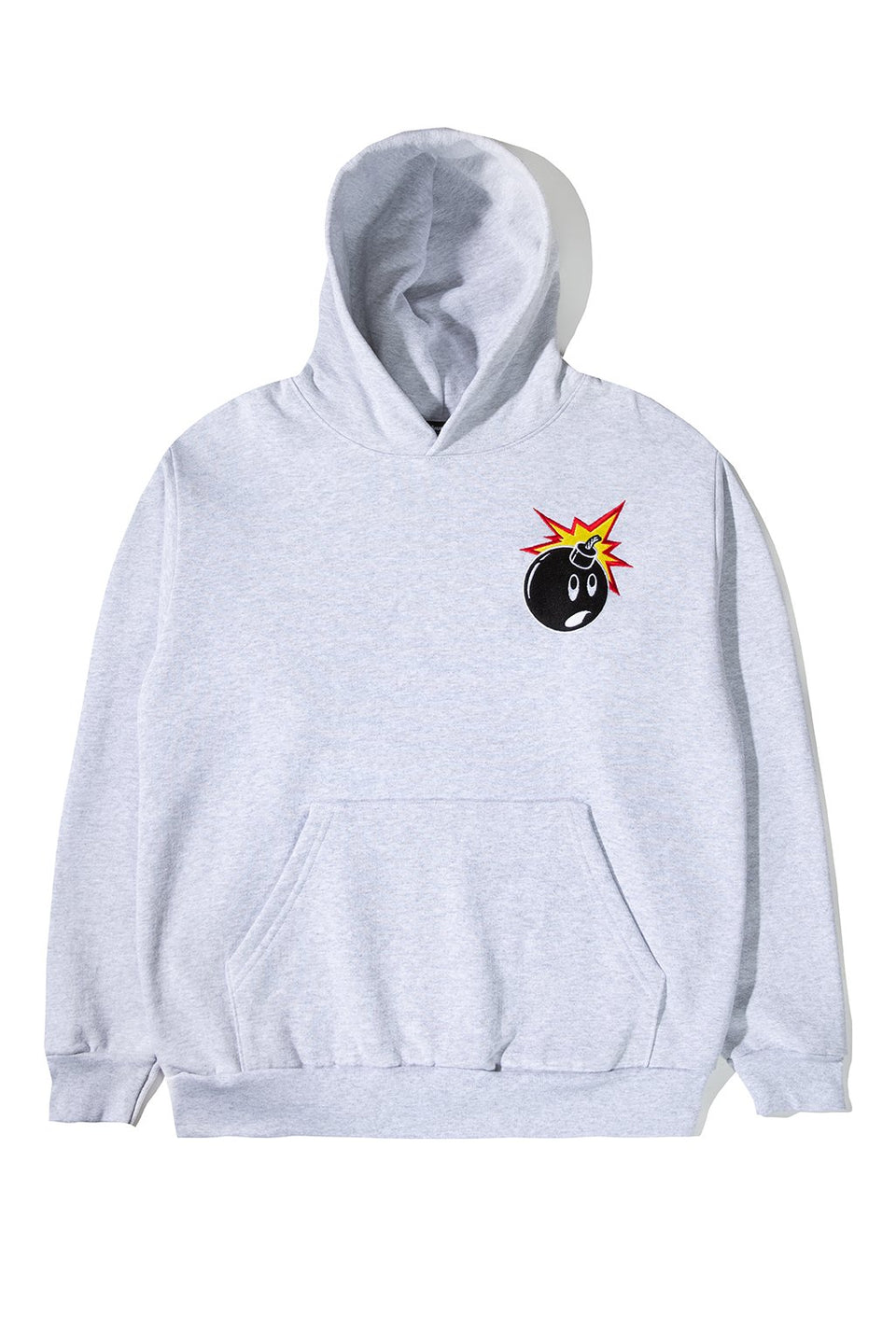Adam Bomb Embroidered Pullover Hoodie