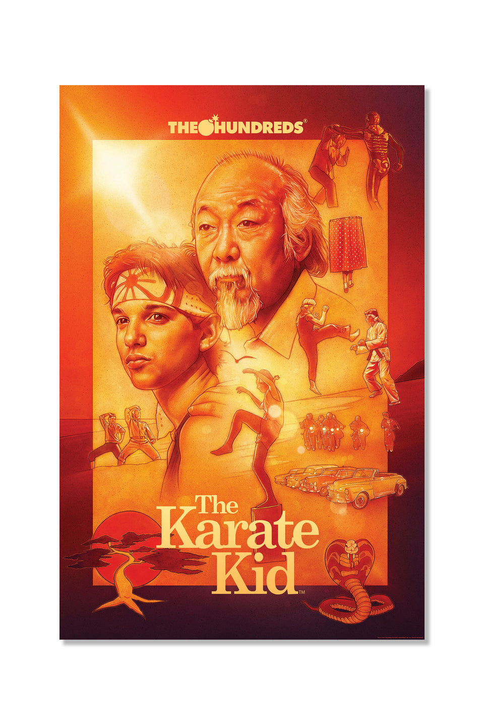 The Hundreds X The Karate Kid Poster