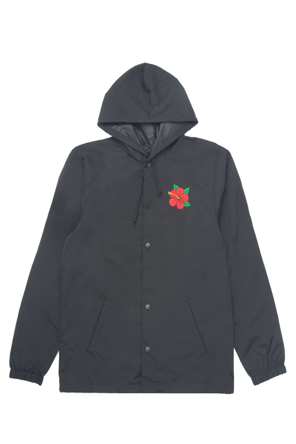 Hibiscus Hooded Coach's Jacket