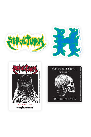 Sepultura Sticker Pack
