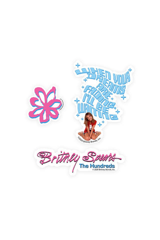 Britney Sticker Pack