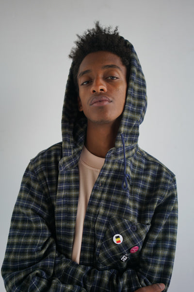 Highsmen Hooded Button-Up