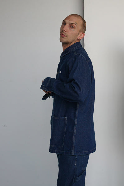 Conrad Denim Button-Up