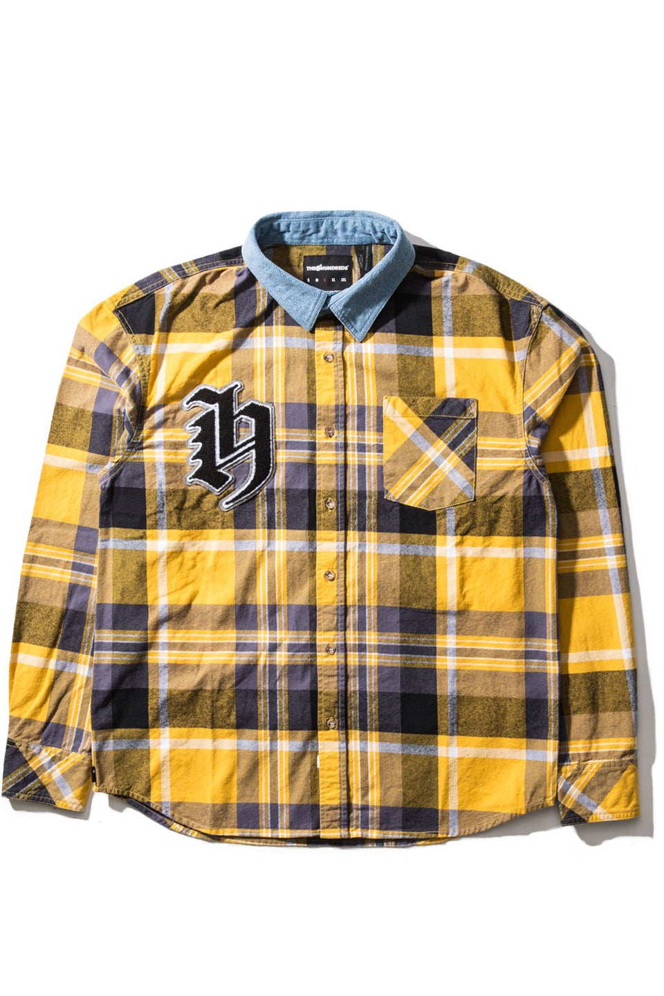 Letterman Button-Up
