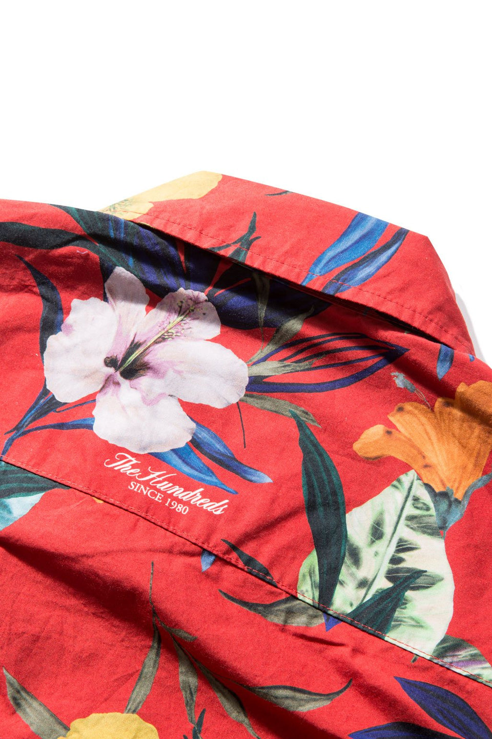 Hibiscus S/S Button-Up