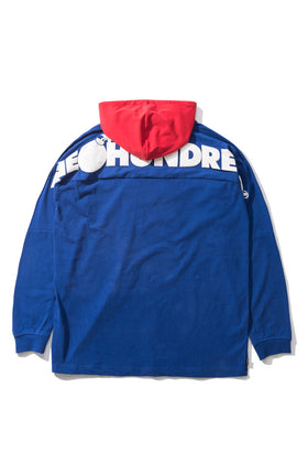Beach Hooded L/S Shirt