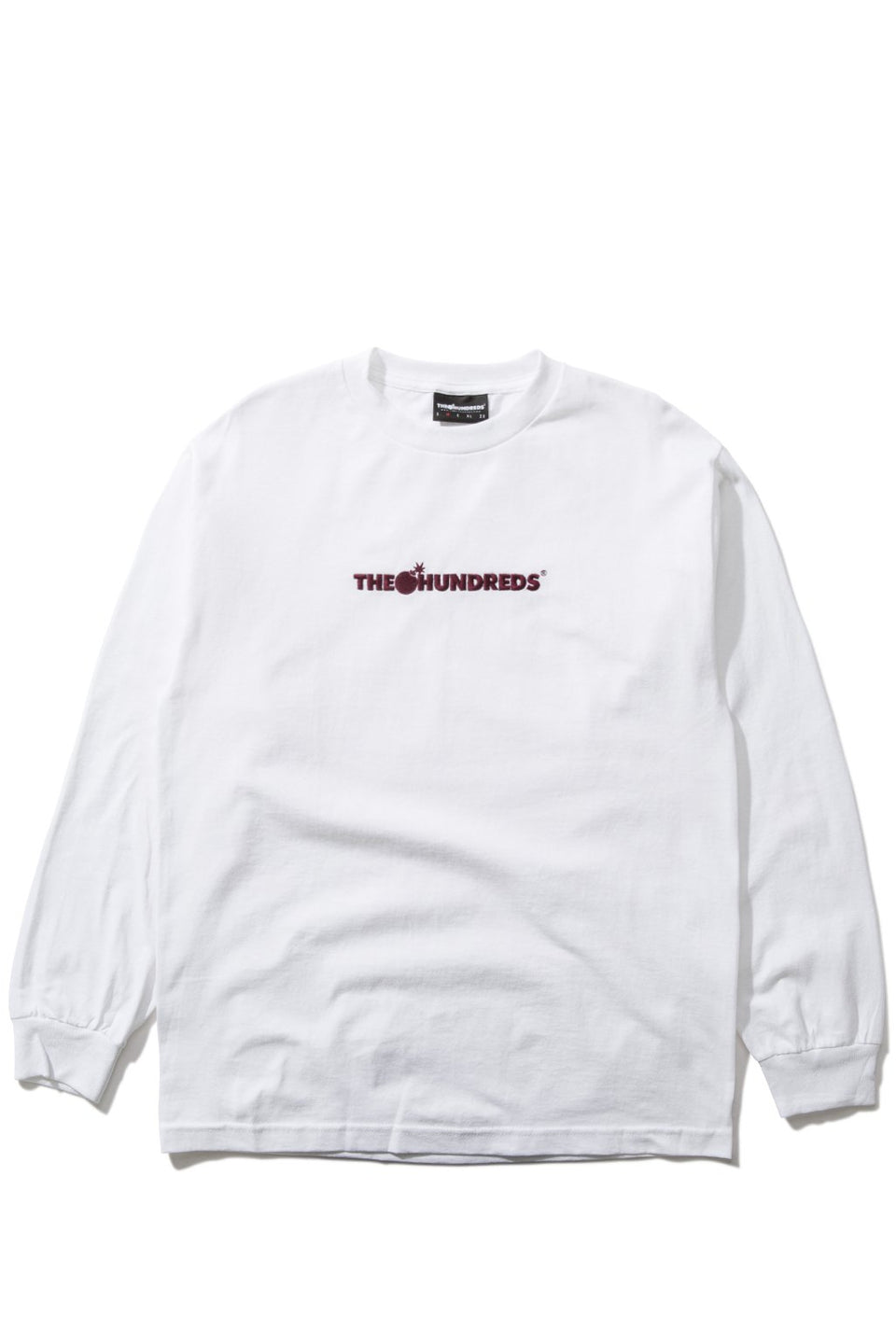 Bar Logo Embroidery L/S Shirt