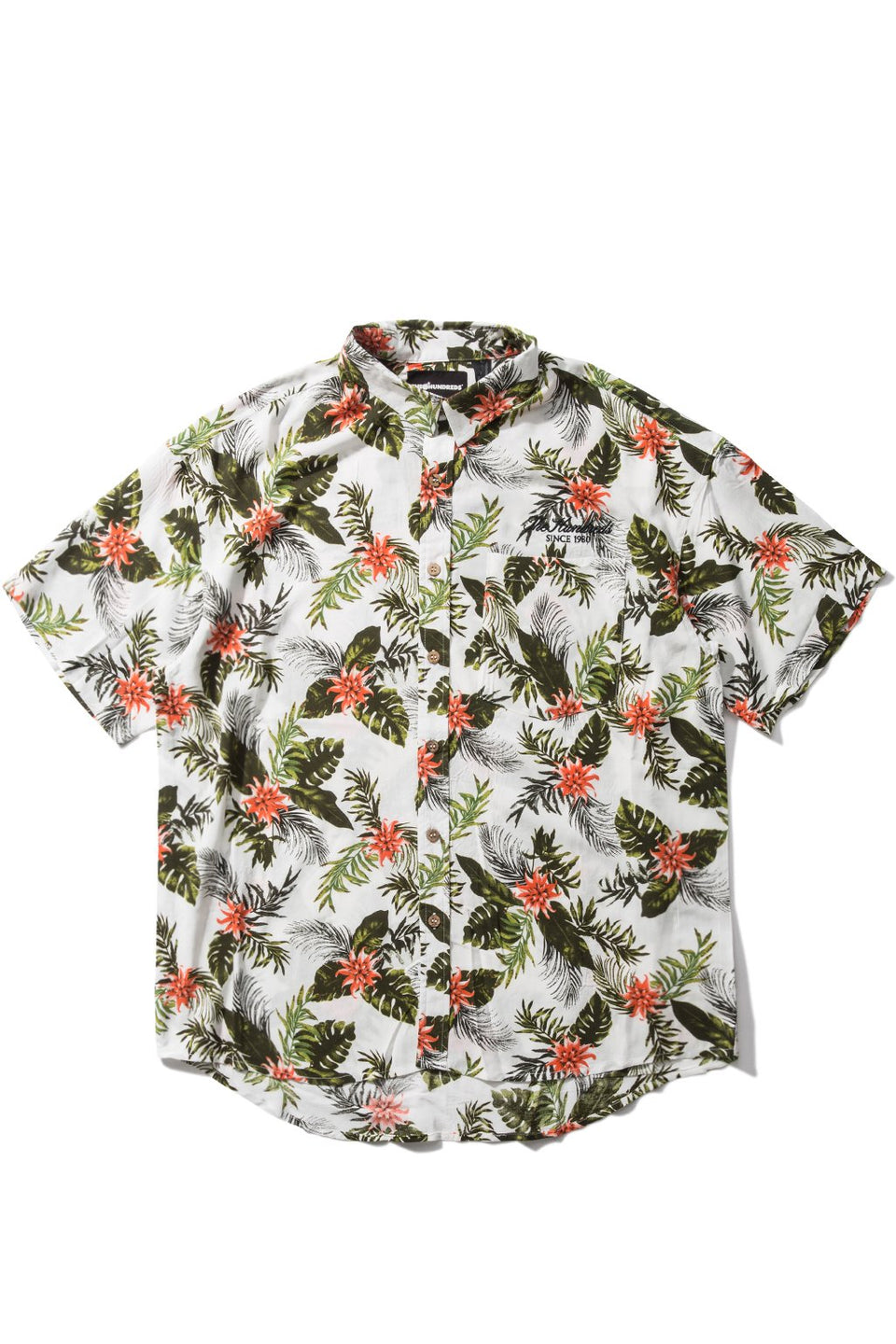 Hawaiian S/S Button-Up